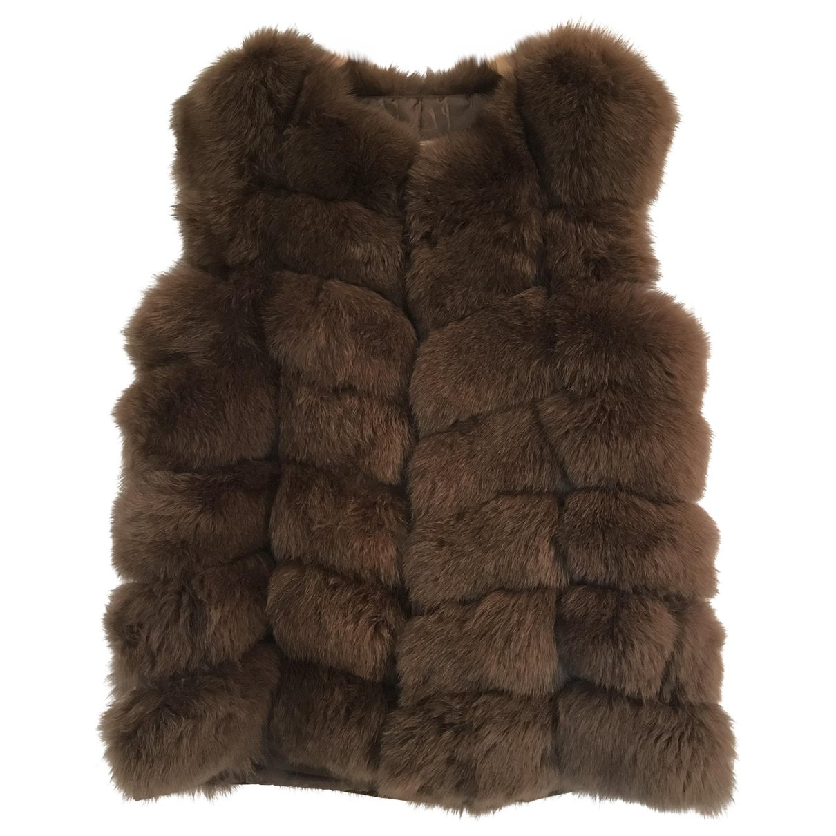 Non Signé / Unsigned \N Brown Fox jacket for Women 40 FR