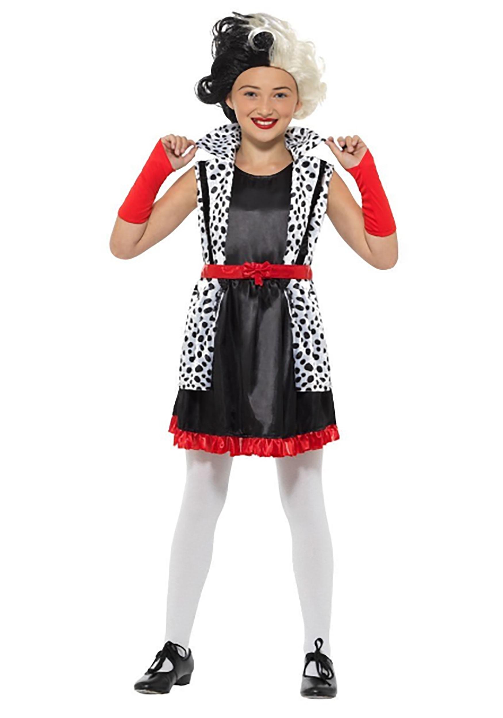 Evil Madame Girl's Costume