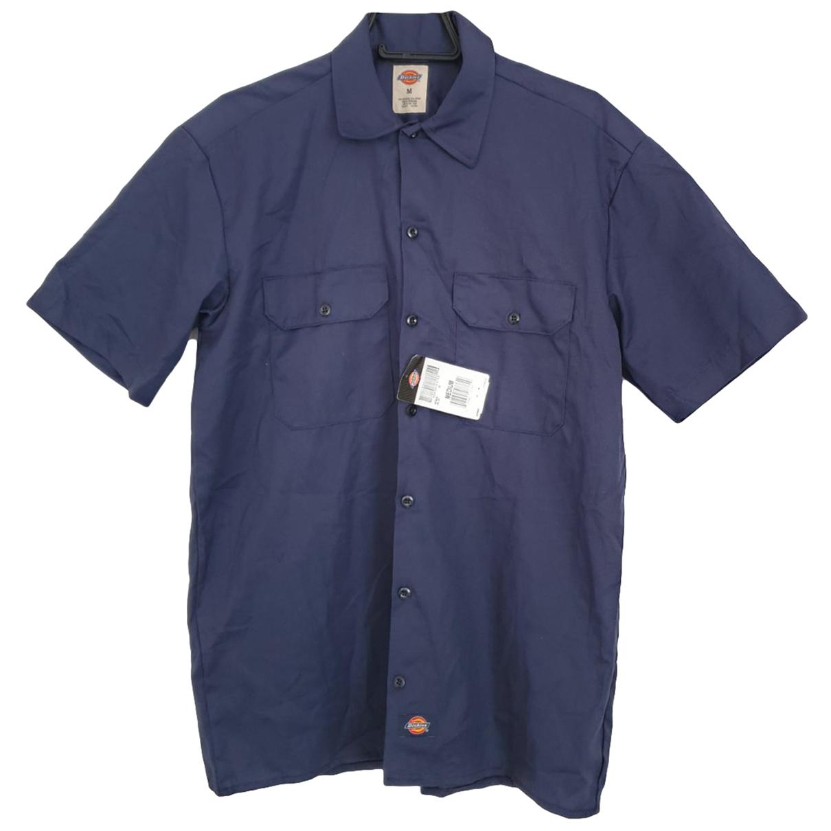 Dickies - Chemises   pour homme en coton - bleu