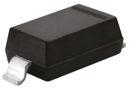 DiodesZetex Diodes Inc, 10V Zener Diode 6% 500 mW SMT 2-Pin SOD-123 (250)