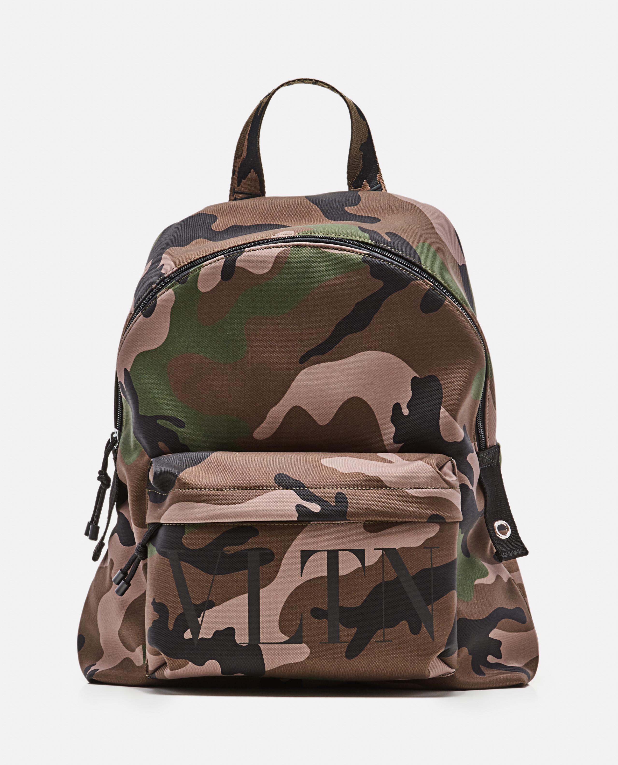 Camouflage 'VLTN' backpack
