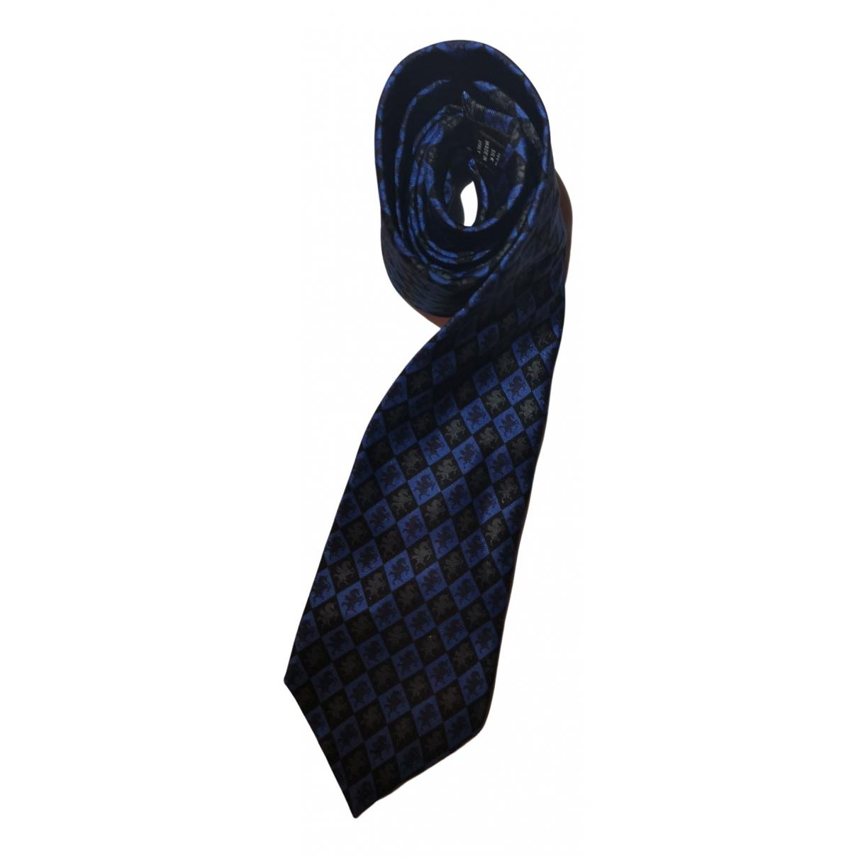 Christian Lacroix - Cravates   pour homme en soie - bleu