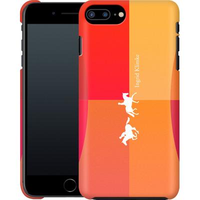 Apple iPhone 7 Plus Smartphone Huelle - Geometric Silhouette von Ingrid Klimke