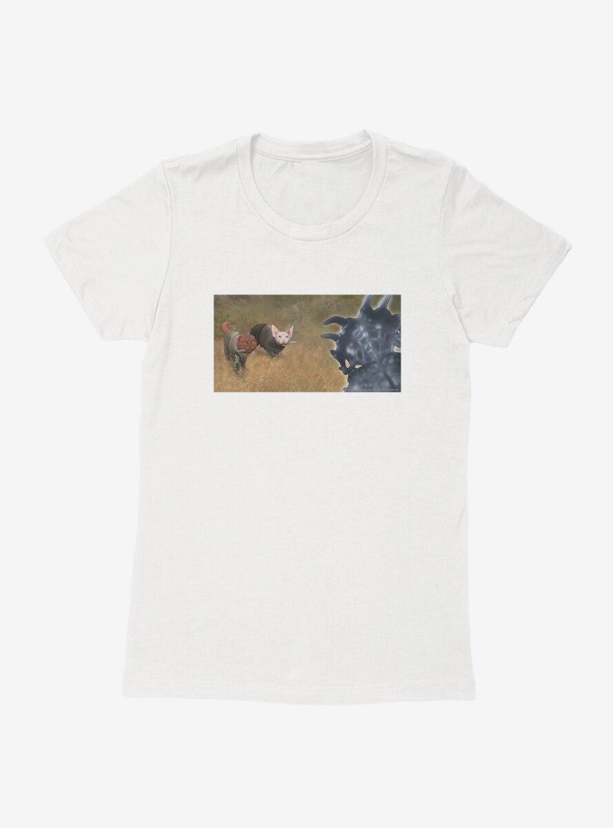 Star Trek The Next Generation Cats Looking Up Womens T-Shirt