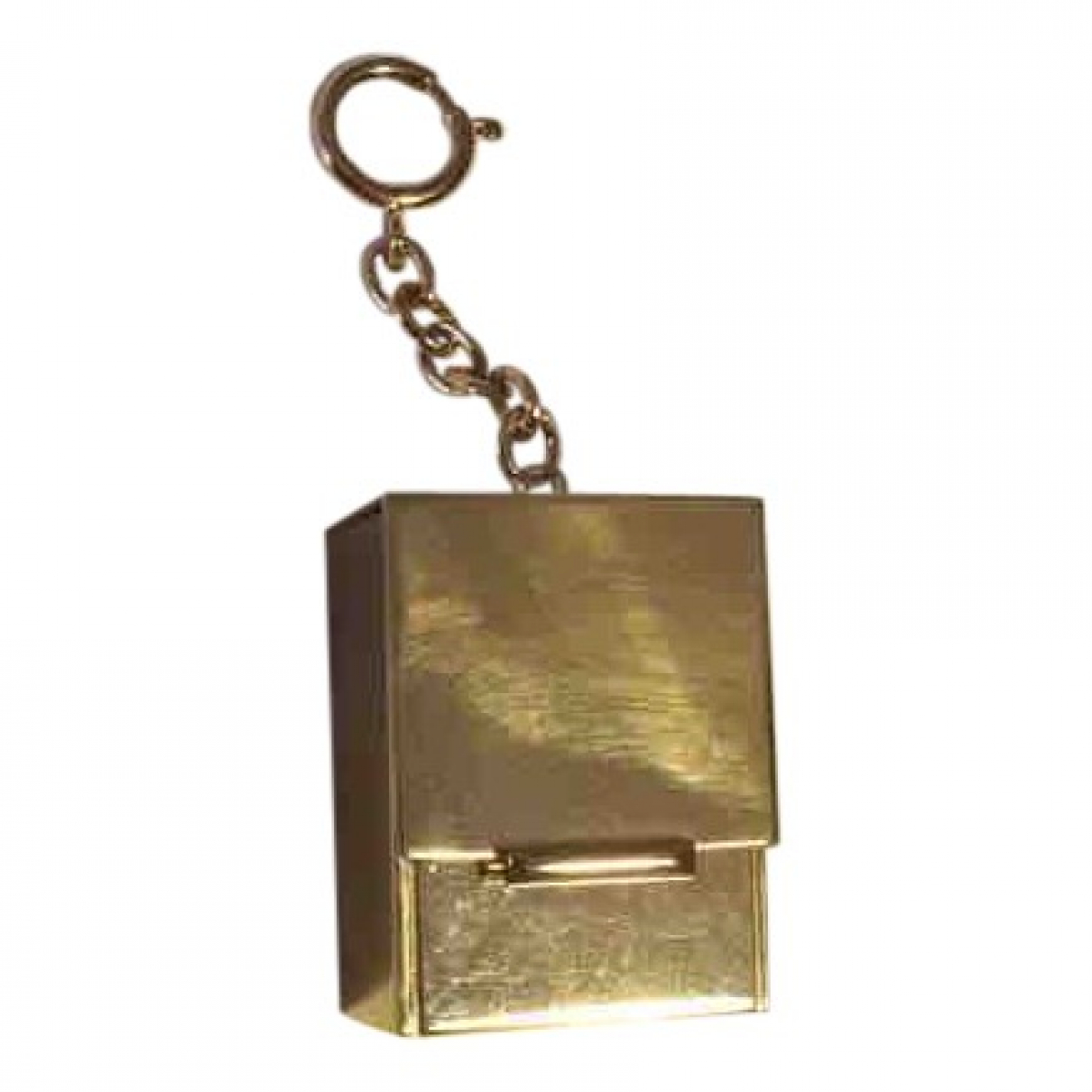 Marni \N Anhaenger in  Gold Metall
