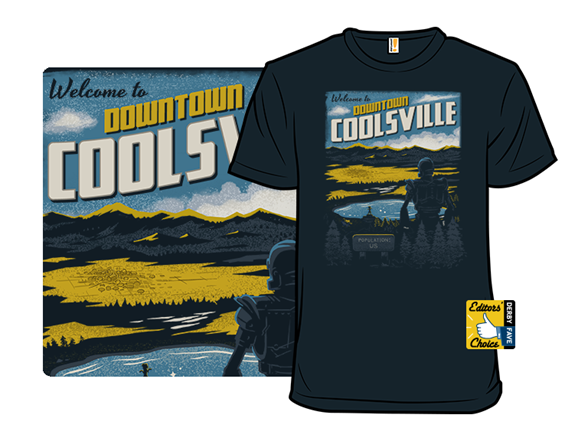 Welcome To Downtown Coolsville T Shirt