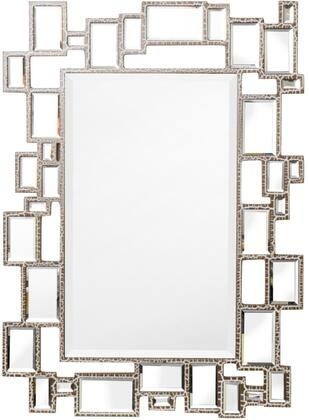Viera Collection VR905 Wall Mirror with Rectangular Shape and EPA Certified in Antique Champagne
