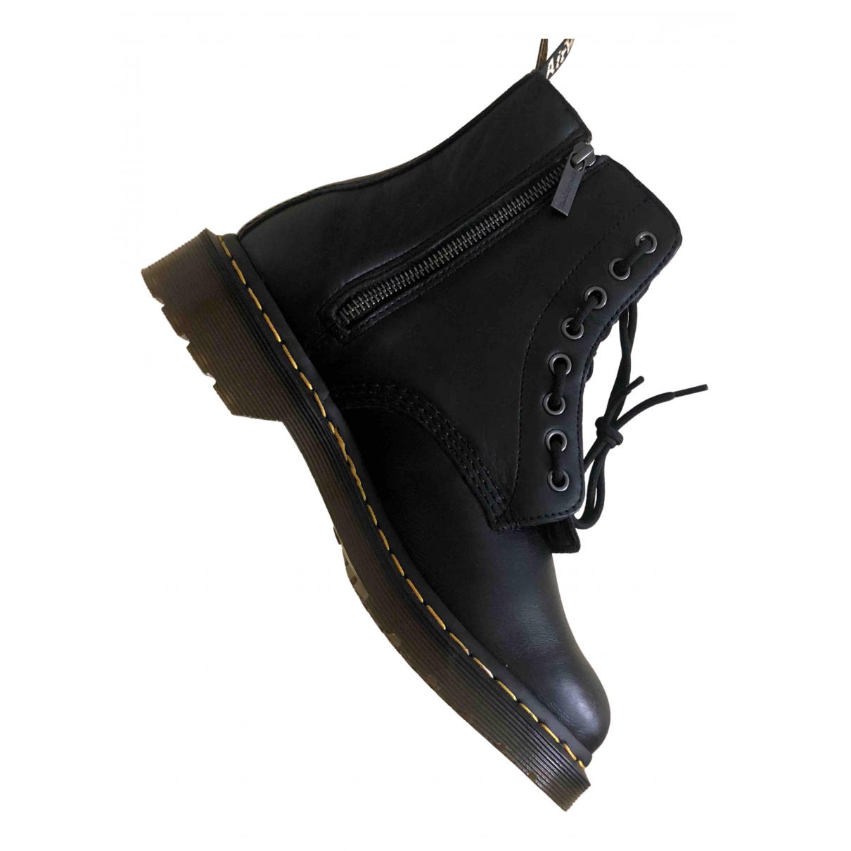 Dr. Martens 1460 Pascal (8 eye) Black Leather Ankle boots for Women 41 EU