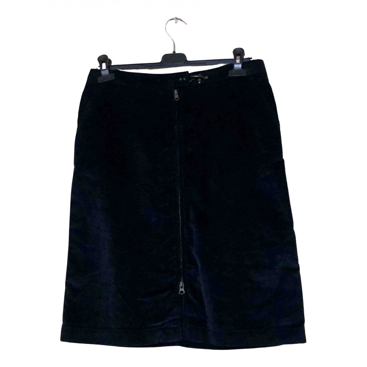 Fay N Blue Cotton skirt for Women 44 IT