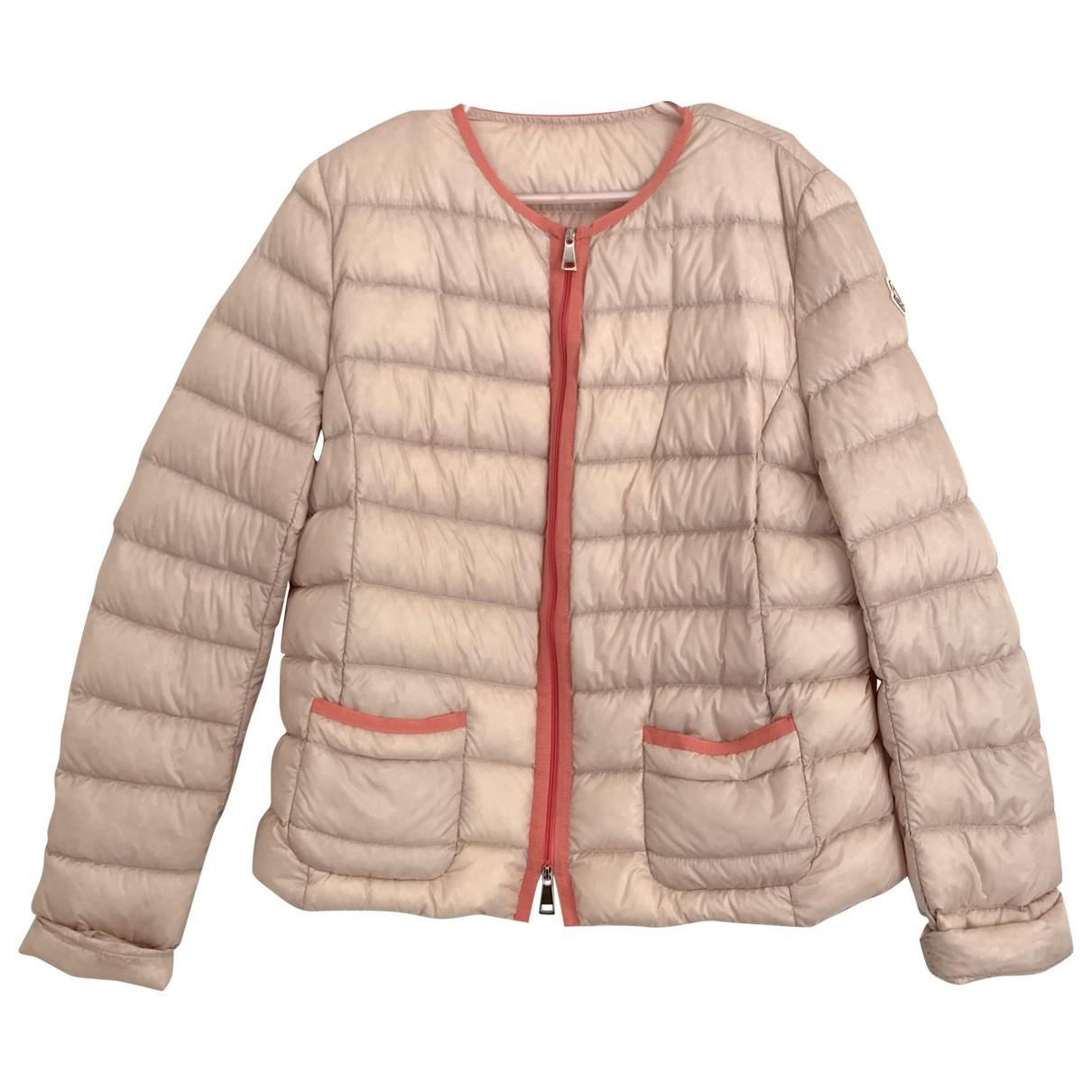 Moncler - Manteau   pour femme - rose