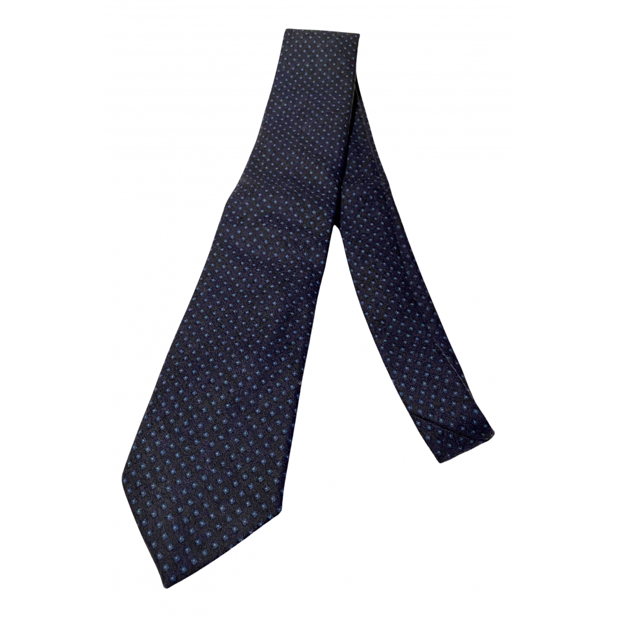 Boggi \N Krawatten in  Blau Wolle