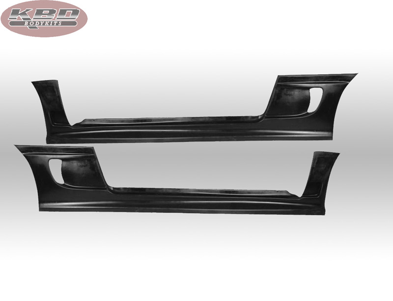KBD Bodykits 37-2292 Blits Style 2 Piece Side Skirts Pair Eagle Talon 95-98
