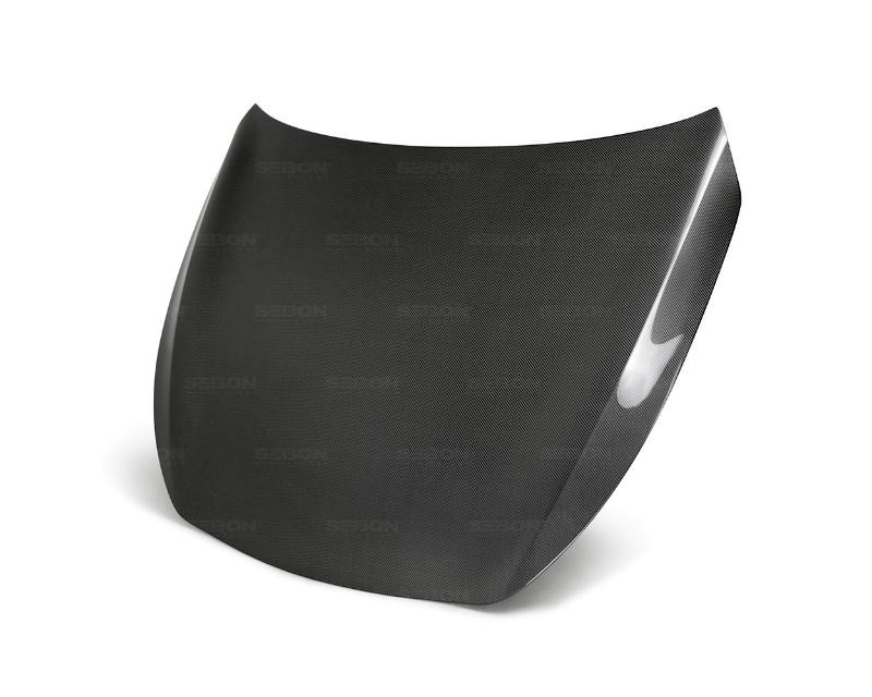 Seibon HD17INFQ60-OE OEM-Style Carbon Fiber Hood Infiniti Q60 2017-2020