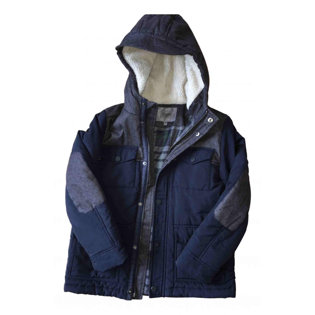 Bonpoint - Blousons.Manteaux   pour enfant - marine