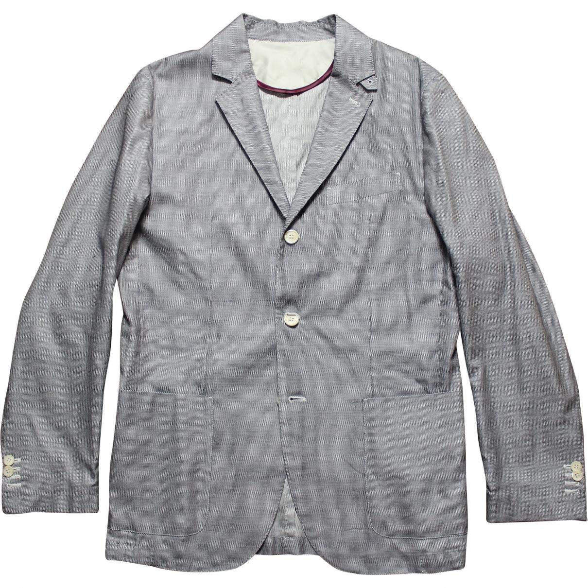 Corneliani - Vestes.Blousons   pour homme en coton - bleu