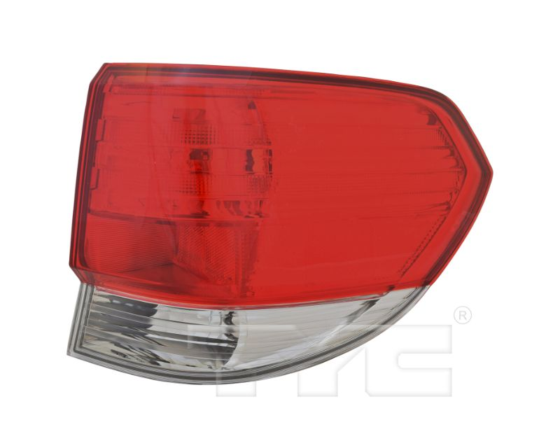TYC Tail Light CAPA Certified Honda Odyssey 2008-2010