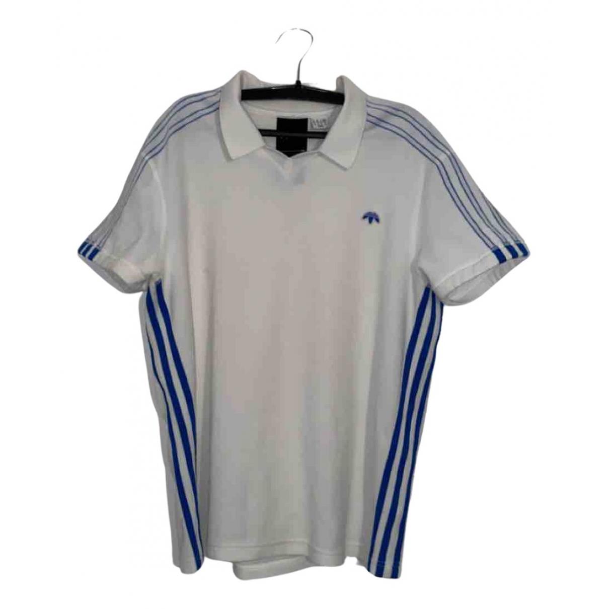 Adidas Originals X Alexander Wang \N Poloshirts in  Weiss Baumwolle
