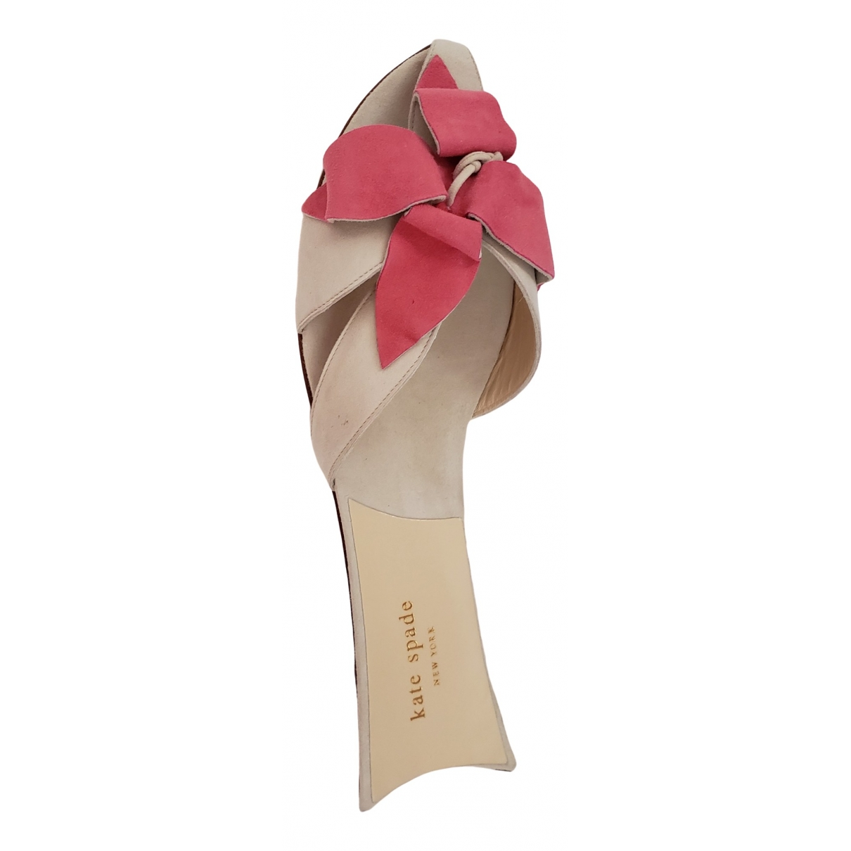 Kate Spade \N Pink Suede Sandals for Women 38 IT