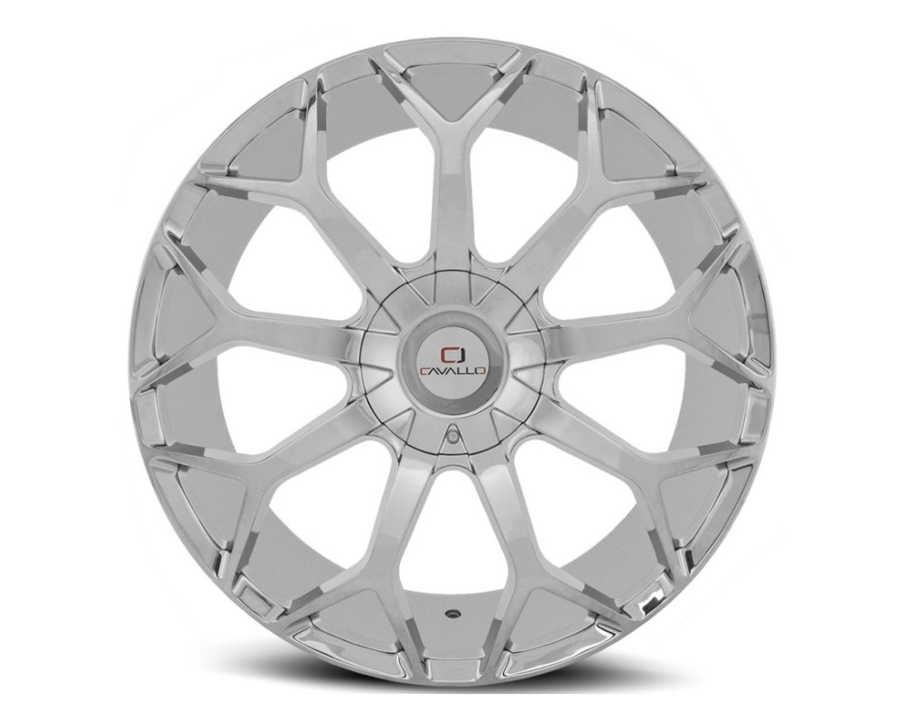 Cavallo CLV-22 Wheel 20x8.5 5x112|5x114.3 35mm Chrome