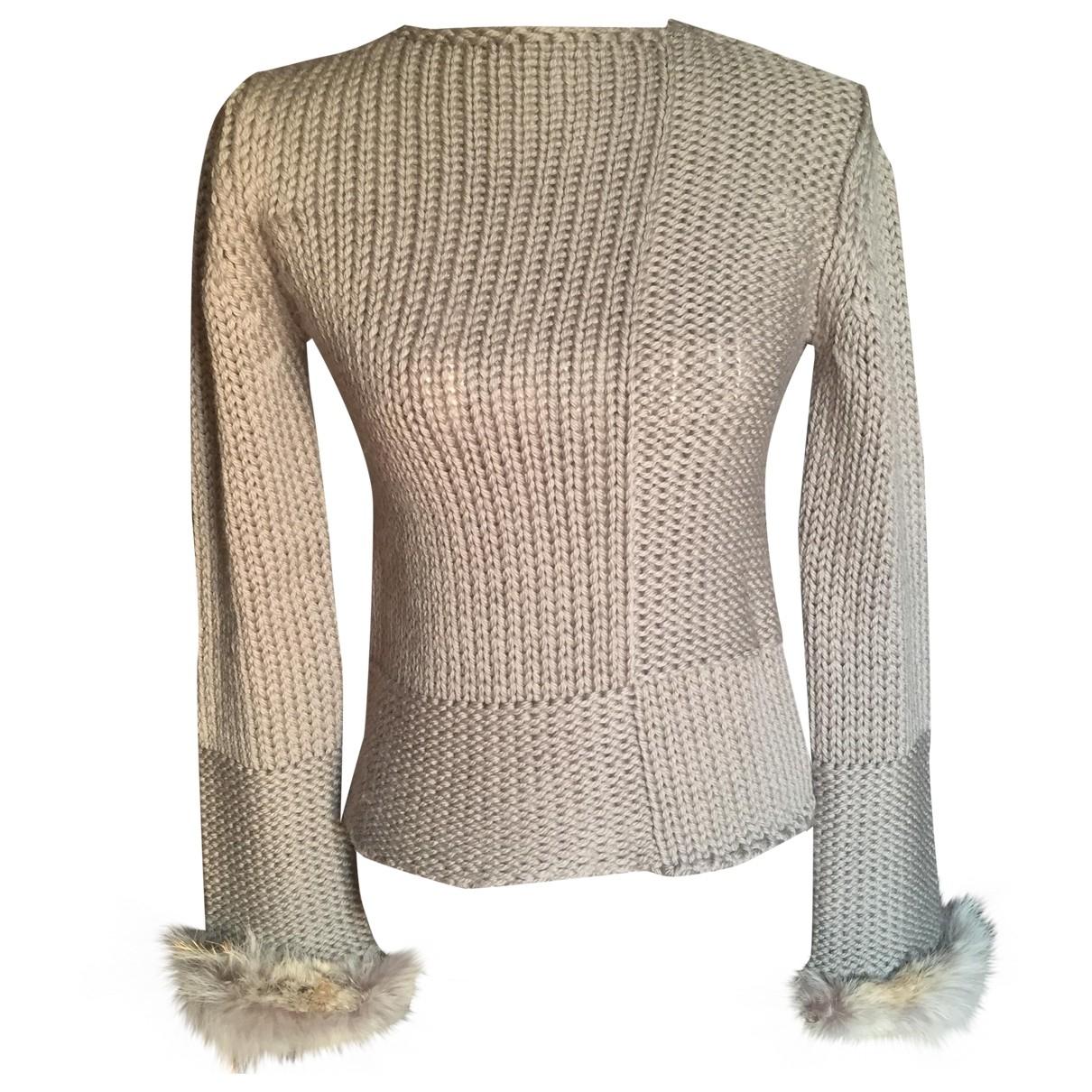 Stephan Janson - Pull   pour femme en laine - ecru