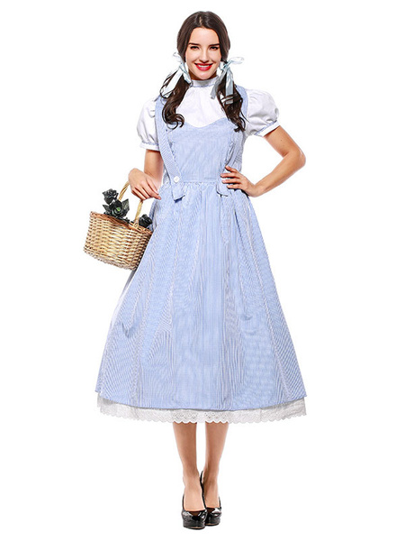 Milanoo The Wizard Of Oz Dorothy Dress Cosplay Costume Halloween