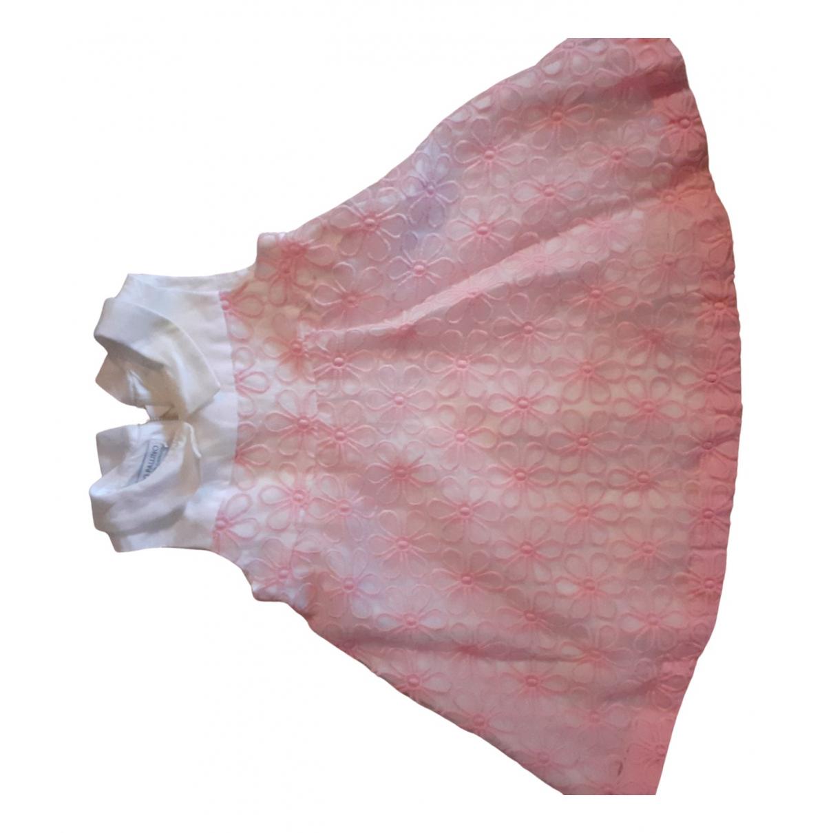 I Pinco Pallino - Robe    pour enfant en coton - rose