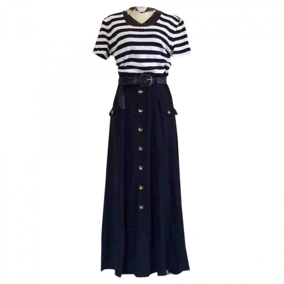 Non Signé / Unsigned \N Blue Cotton dress for Women 10 UK