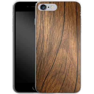 Apple iPhone 6s Plus Silikon Handyhuelle - Wood von caseable Designs