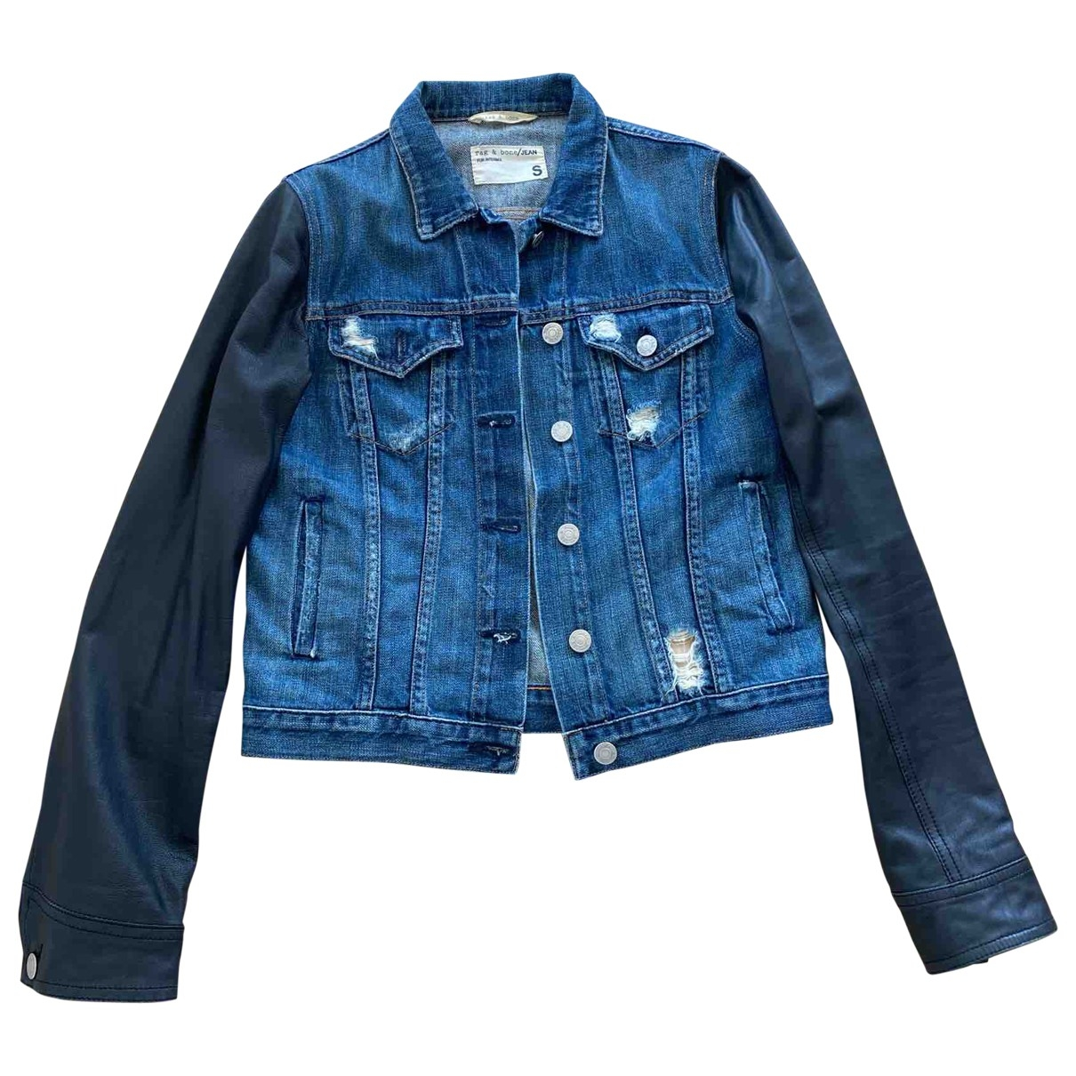 Rag & Bone \N Jacke in  Blau Denim - Jeans