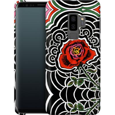 Samsung Galaxy S9 Plus Smartphone Huelle - Marions Rose von Kaitlyn Parker