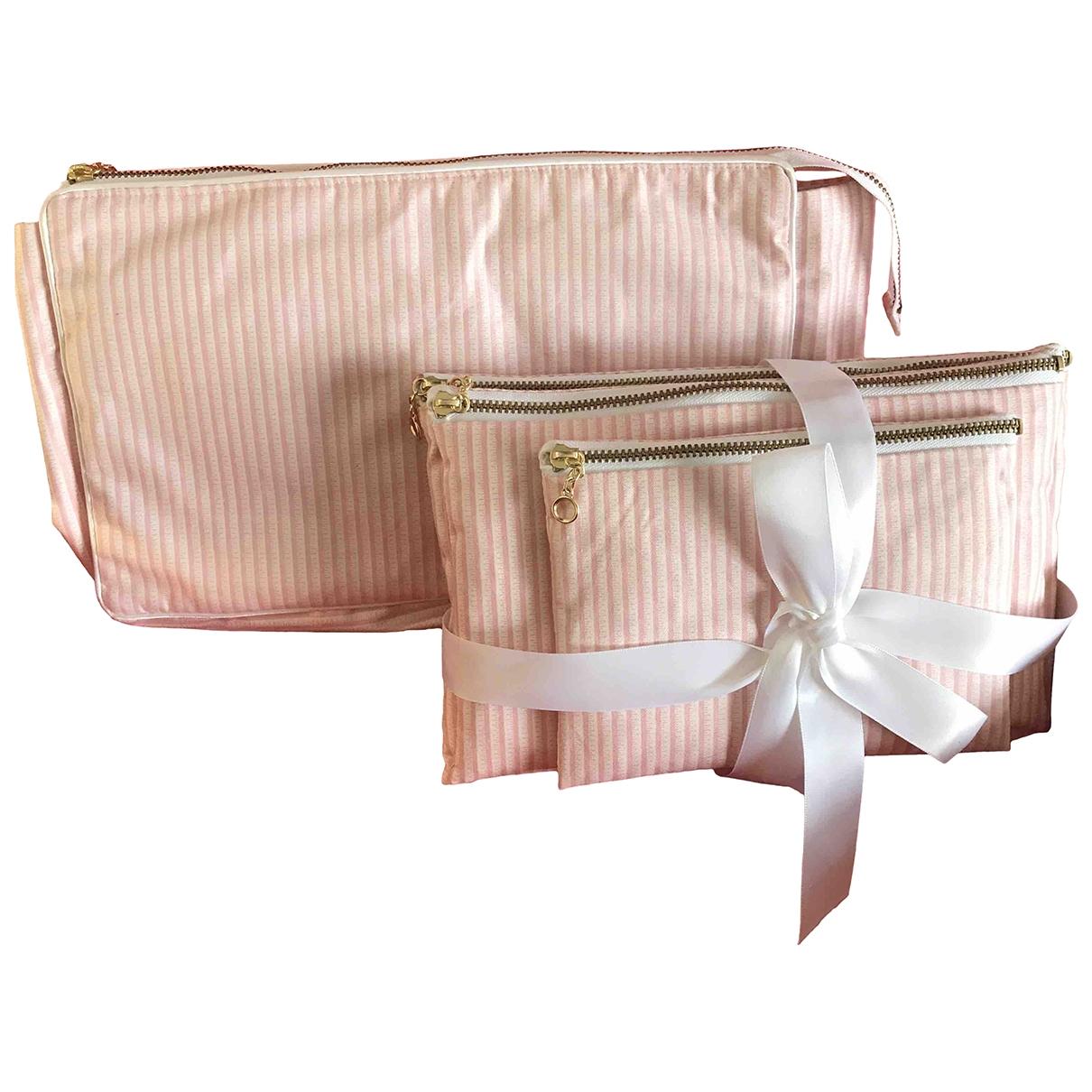 Dior \N Reisetasche in  Rosa Baumwolle