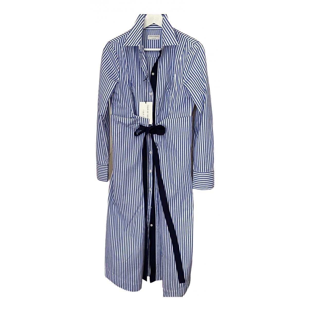 Tiger Of Sweden \N Kleid in  Blau Baumwolle