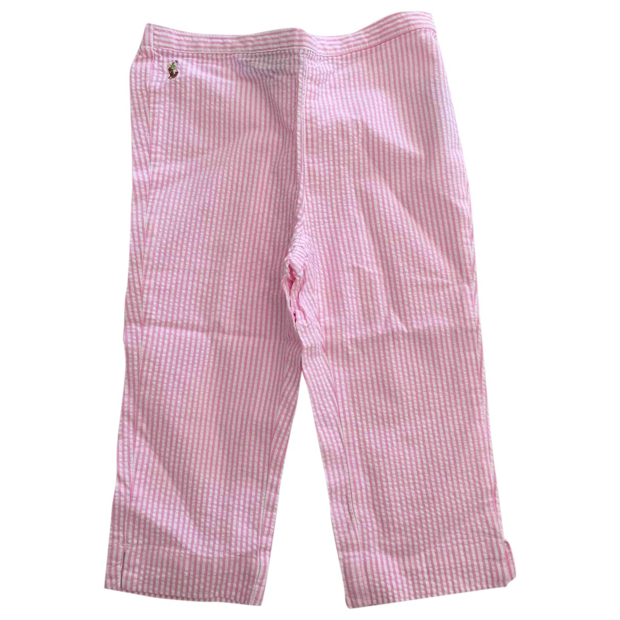 Ralph Lauren \N Pink Cotton Trousers for Kids 2 years - up to 86cm FR