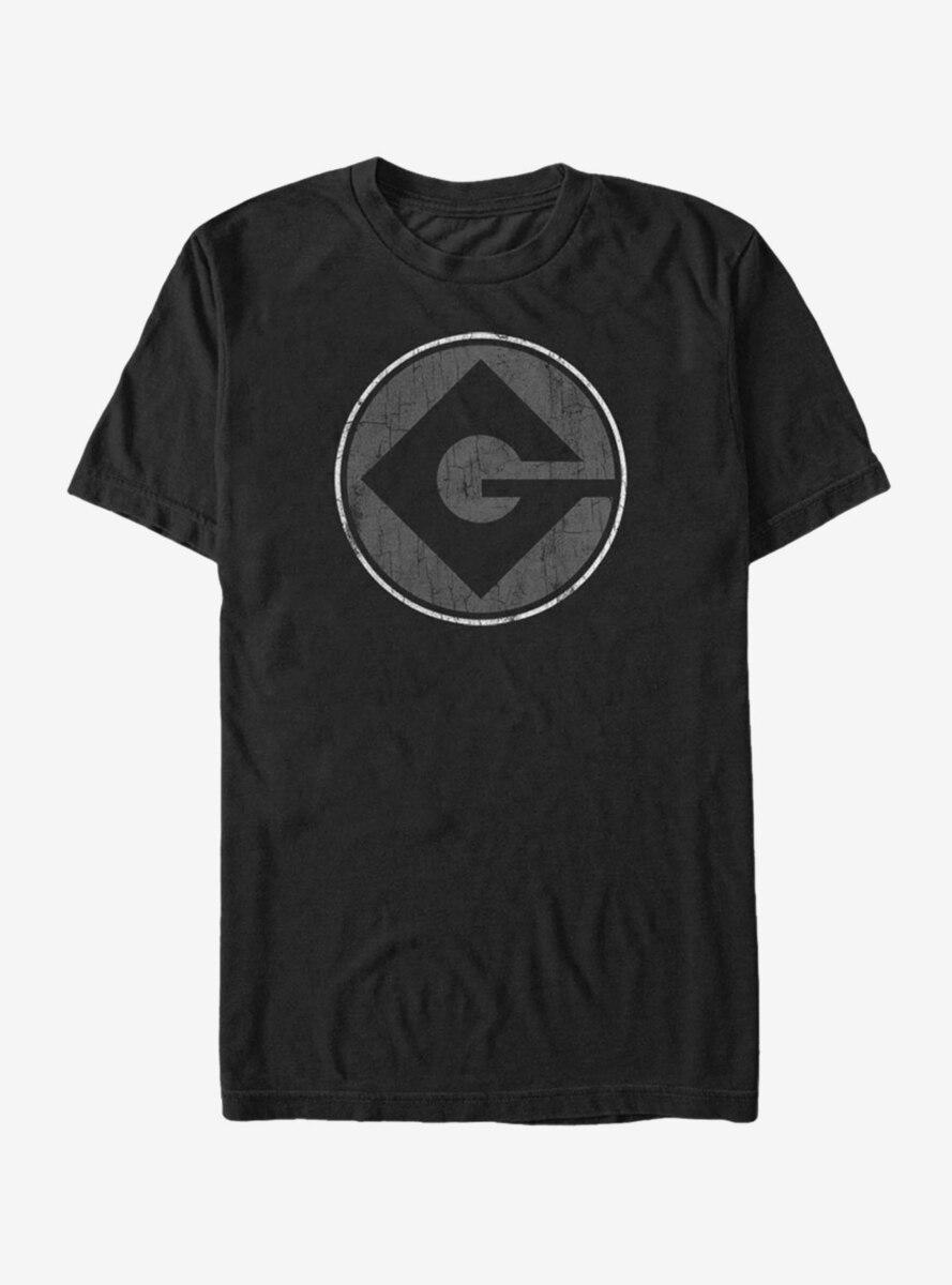 Despicable Me Gru Logo T-Shirt