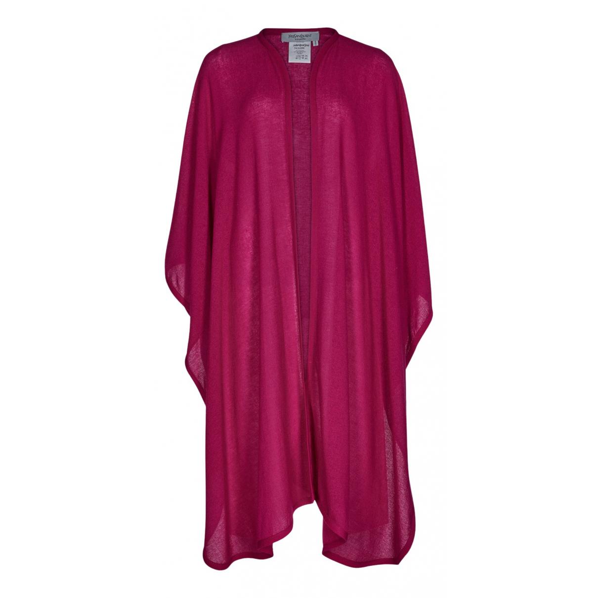 Yves Saint Laurent N Pink Wool jacket for Women M International
