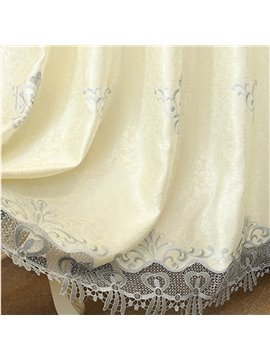Elegant Embroidered Blackout Window Curtains Custom 2 Panels Drapes for Living Room No Pilling No Fading No off-lining