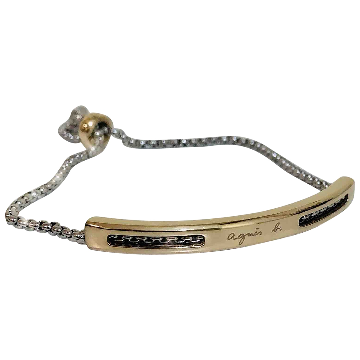 Agnes B. \N Armband in  Gold Metall