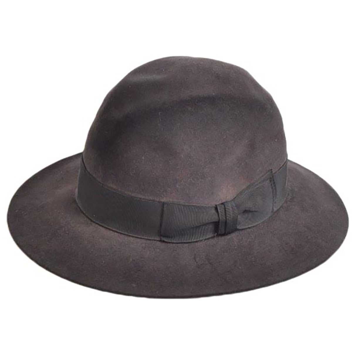 Non Signé / Unsigned \N Grey Wool hat & pull on hat for Men 55 cm