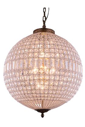1205D24FG/RC 1205 Olivia Collection Pendent Lamp D: 24.5 H: 33.5 Lt: 5 French Gold Finish (Royal Cut