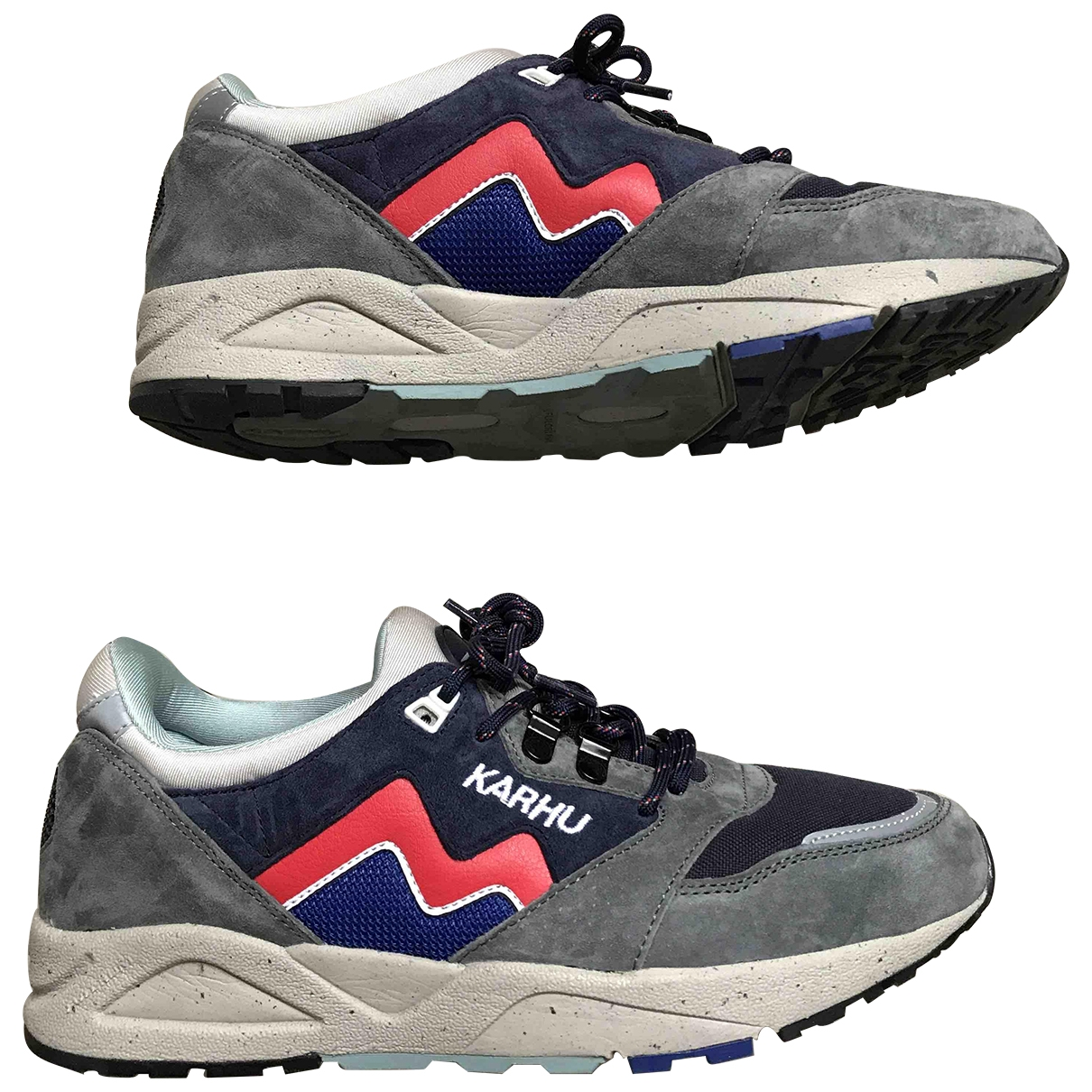 Karhu \N Sneakers in  Anthrazit Veloursleder