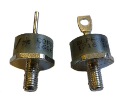 Vishay 800V 80A, Silicon Junction Diode, 2-Pin DO-2013AB VS-80PF80W