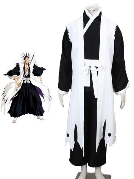 Milanoo Bleach Zaraki Kenpachi Cosplay Costume Halloween