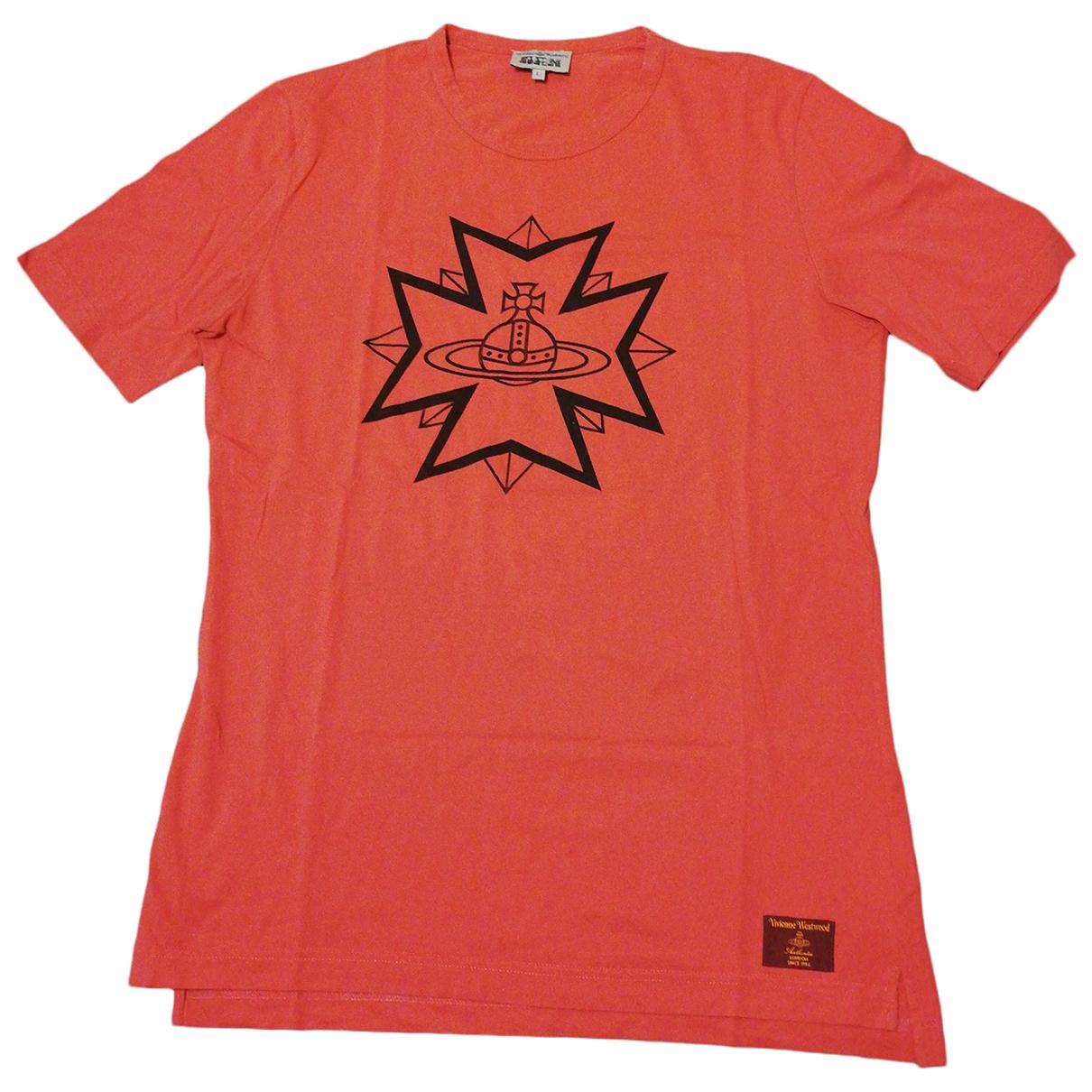 Vivienne Westwood \N Pink Cotton T-shirts for Men L International