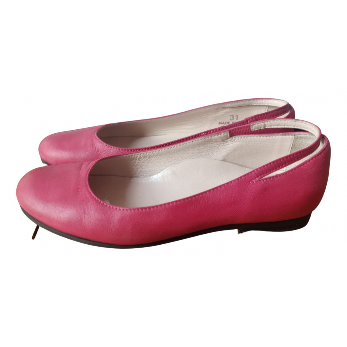 Dior \N Ballerinas in  Rosa Leder