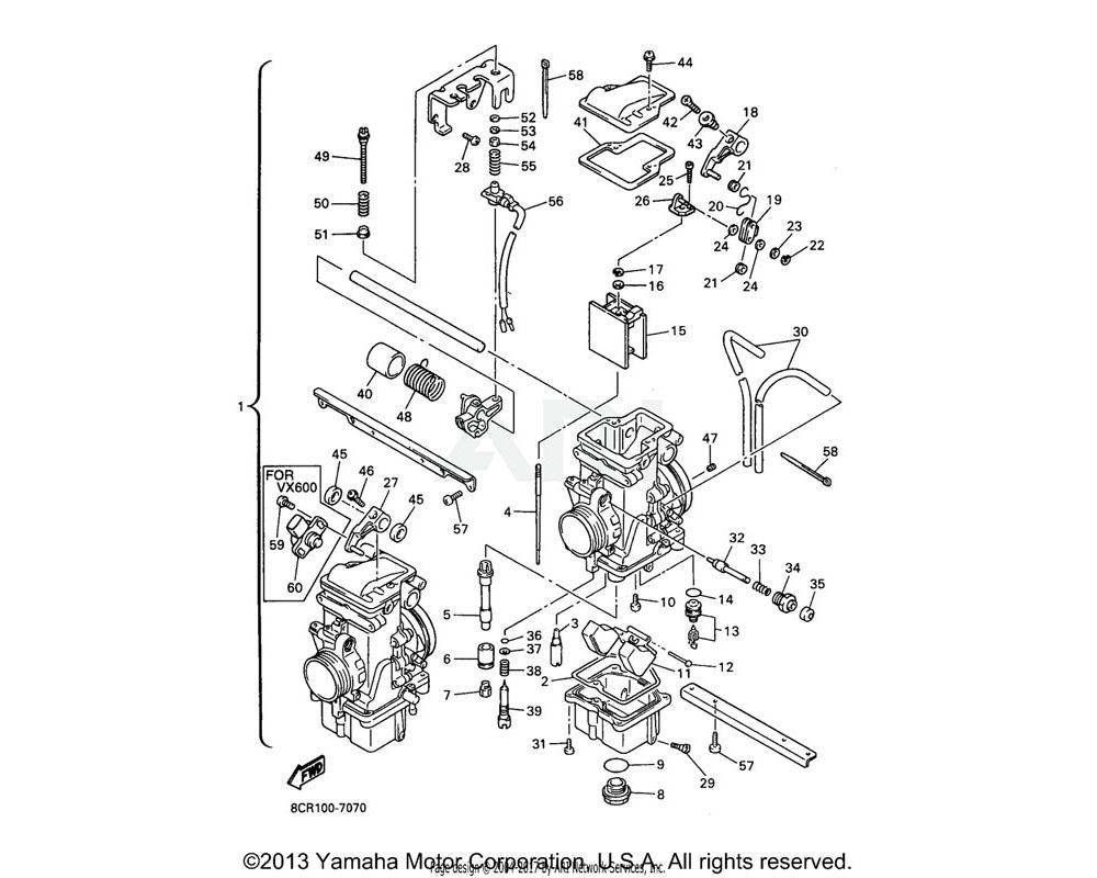 Yamaha OEM 3G2-1423E-62-00 JET, MAIN (#156.3) | UR