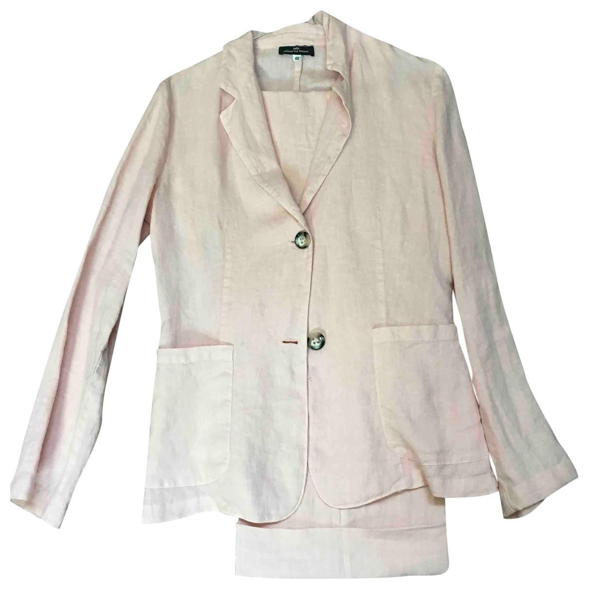 Alberto Biani \N Pink Cotton jacket for Women 42 IT