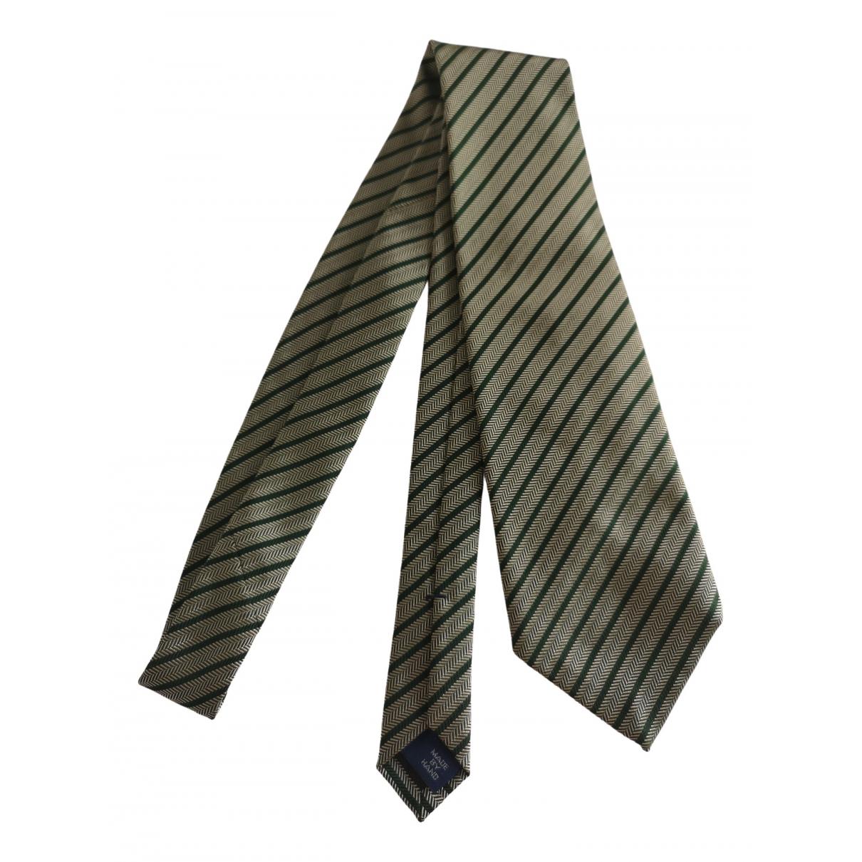 Polo Ralph Lauren \N Green Silk Ties for Men \N