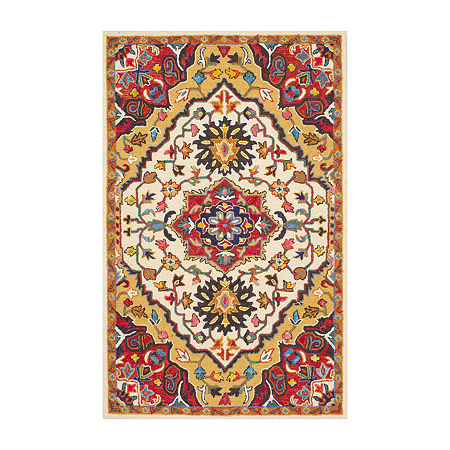 nuLoom Hand Tufted Arline Rug, One Size , Red