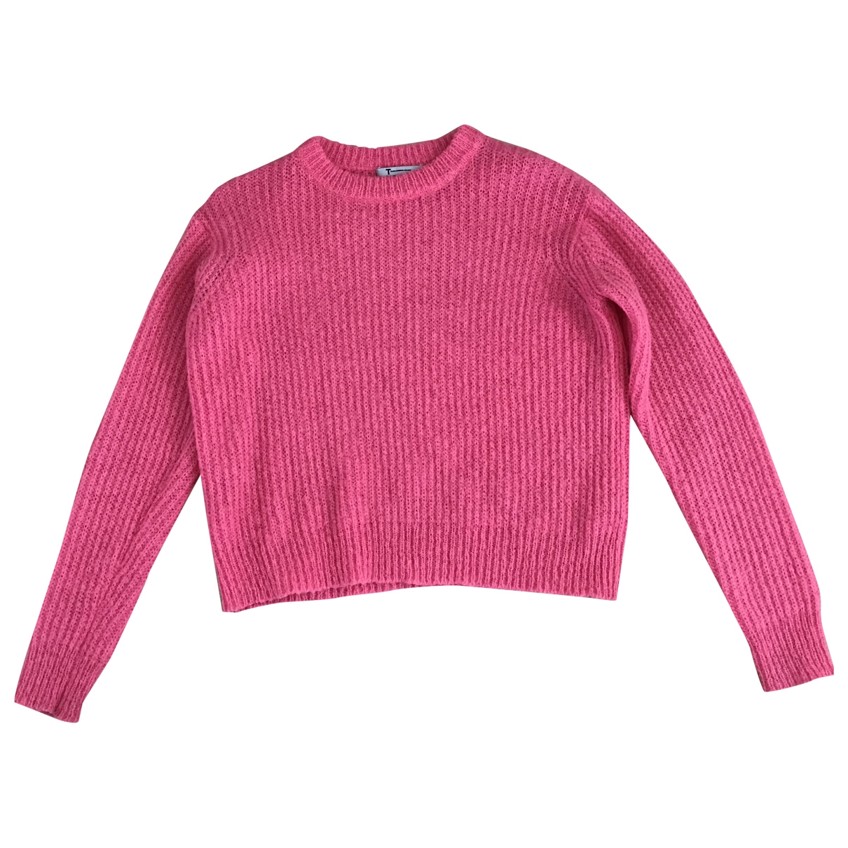 T By Alexander Wang \N Pullover in  Rosa Synthetik