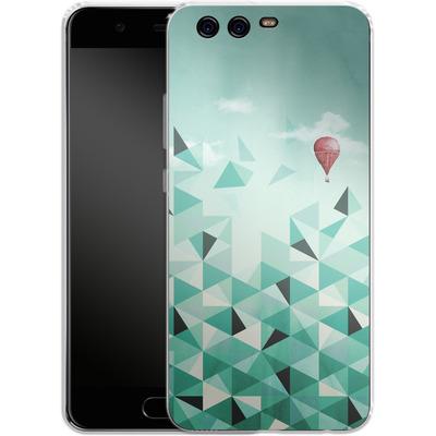 Huawei P10 Silikon Handyhuelle - Emerald City von Little Clyde
